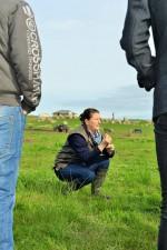 McIvor Farm Belinda explaining soils